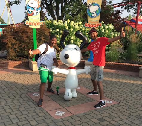 Josh, Snoopy &  Me