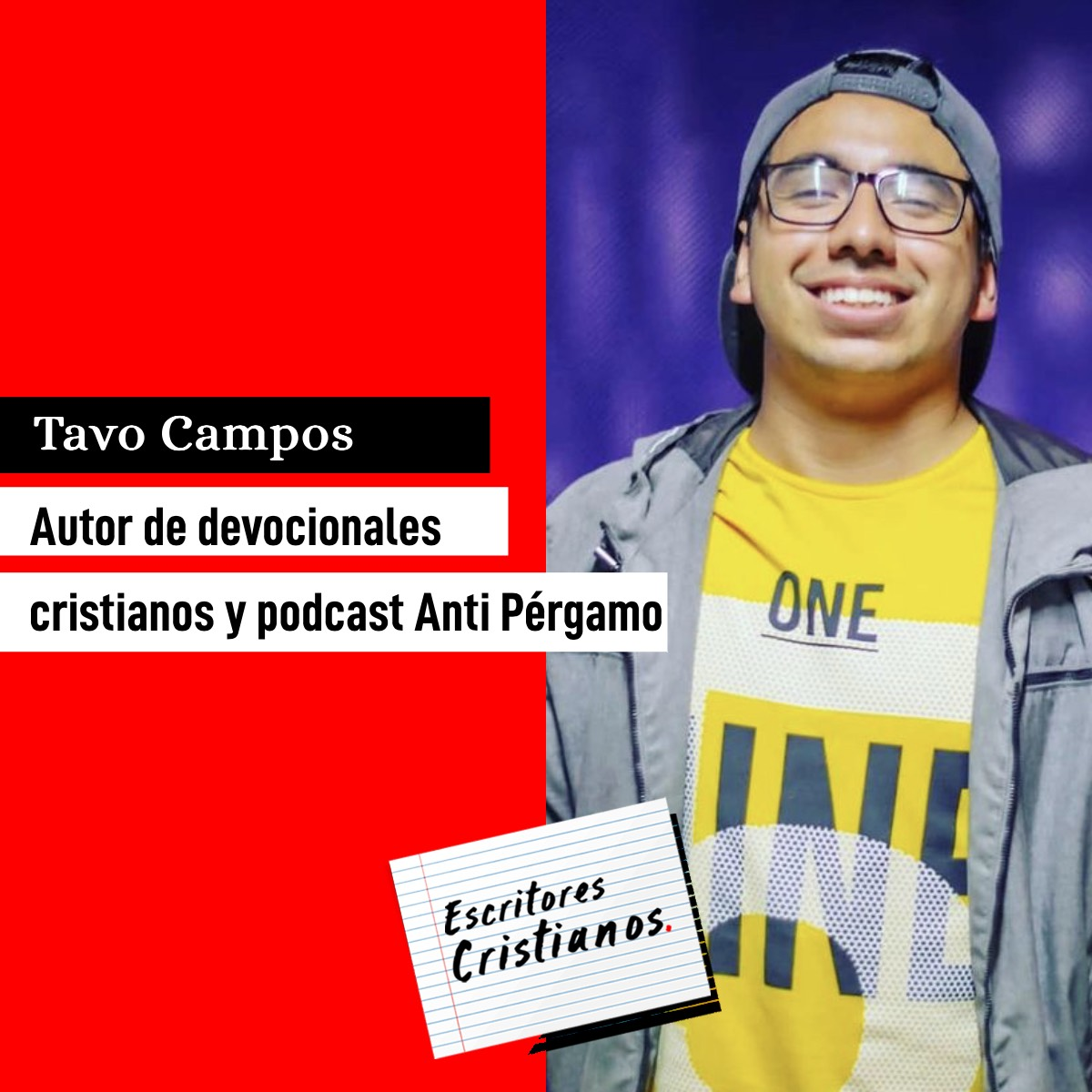 Tavo Campos habla de sus devocionales, la rebeldía y elorgullo