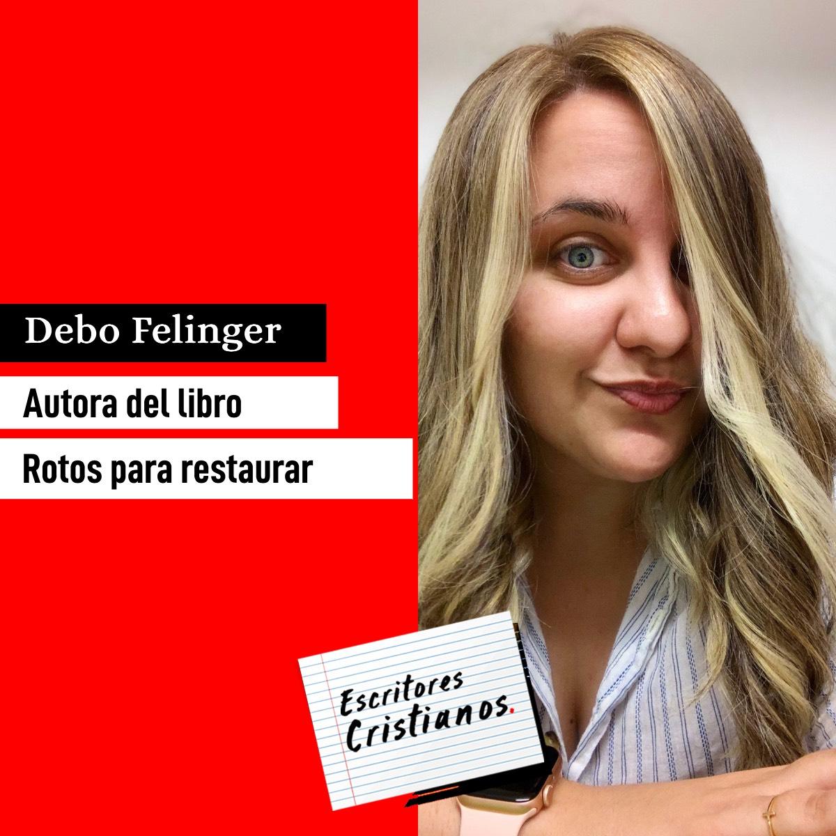 Debo Felinger habla de su libro Rotos pararestaurar